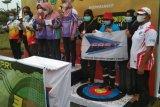 Panahan beregu putri Lampung raih satu medali emas di Batam