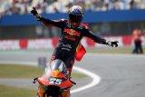 Fernandez juara GP Belanda, Pertamina Mandalika raih poin ganda