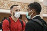 Kedatangan Bali United di kota Solo disambut kabar penundaan turnamen