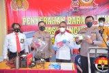 Polda Lampung sita 183 unit pucuk senjata api rakitan