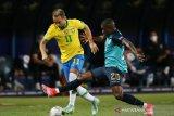 Turunkan skuat pelapis, Brazil ditahan imbang 1-1  Ekuador
