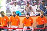 Lima pencuri proyek ponpes di Semarang ditangkap