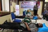 Polres Meranti gelar donor darah massal