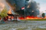 Flash-Usai putusan MK, massa  bakar fasilitas pemerintah di Yalimo Papua