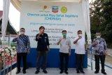 Program Cherish, Bupati Rohil resmikan dua sumur air bersih dalam sehari