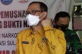 BNNP Sulawesi Selatan bongkar produsen tembakau sintetis