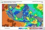 BMKG peringatkan sejumlah wilayah berpotensi hujan lebat