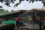 Masjid Jayakarta di Kawasan Industri Pulogadung Jakarta Timur terbakar