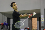 Ginting fokus berlatih jelang Olimpiade Tokyo