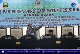 Bupati Pesisir Barat hadiri rapat paripurna DPRD