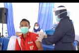 Pertamina lakukan vaksinasi kepada ratusan pekerja di Fuel Terminal Lahat