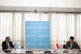 Menhan Prabowo dan Dirjen WHO membahas penanganan pandemik COVID-19