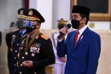 Presiden: Penggunaan Kewenangan Polri Harus Didukung oleh Perkembangan Teknologi Mutakhir