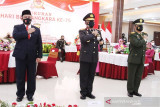 Kapolri anugerahkan Pin Emas PPKM Skala Mikro untuk Polda Kalteng
