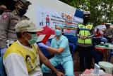 Mobil vaksinasi COVID-19 keliling Sat Lantas Polresta Bandarlampung
