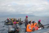 Brigif 4 Marinir/BS jemput warga pulau terpencil di Lampung ikut vaksinasi