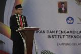 Prof. Mitra Djamal resmi jabat  Rektor Institut Teknologi Sumatera