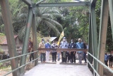 Jembatan Sei Solai hubungkan dua kecamatan fungsional sebulan lagi