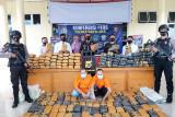 Polisi gagalkan peredaran 195 kilogram ganja