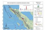 46 kali gempa terjadi di Sumatera Utara dan Aceh dalam sepekan terakhir