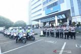 Korlantas Polri dirikan pos pemeriksaan di 407 titik pembatasan di Pulau Jawa dan Bali