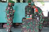 Danrem 174 pimpin serah terima penyerahan tugas Satgas TNI
