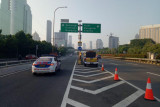 Jasa Marga dukung  PPKM Darurat di sejumlah titik lokasi jalan tol