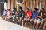Satgas TNI lakukan komunikasi sosial warga perbatasan cegah hoaks