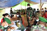 Kodim 1707/Merauke lakukan vaksinasi warga di perbatasan RI-PNG