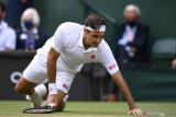 Federer maju ke babak 16 besar Wiwbledon