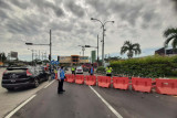 Lima pintu keluar tol Semarang ditutup
