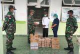 TNI beri tambahan asupan gizi untuk nakes RSUD Boven Digoel