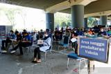 10 stasiun kereta api melayani vaksinasi COVID-19 gratis