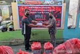 Semangat persaudaraan Bold Riders Manado bantu korban kebakaran Bitung