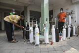 Pemerintah bentuk satgas  pastikan kebutuhan oksigen tercukupi