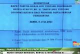 DPR dan pemerintah sepakat bahas usulan perluasan otonomi khusus Papua