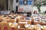 Bea Cukai Jateng-DIY gagalkan pengiriman 1 juta rokok ilegal ditutupi muatan garam