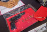 Kurir sabu di Mataram miliki senjata api dan empat butir peluru