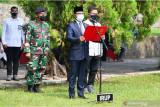 Menkominfo pimpin Upacara Apel Persada Pertiwi pemakaman Harmoko di TMP Kalibata