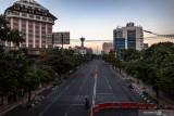 Selama PPKM Darurat, akses ke kawasan Tugu Muda Semarang ditutup