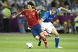 Laga Spanyol vs Italia di semifinal Euro 2020