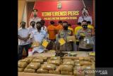 Polisi sita 50 kg ganja dari kaki tangan bandar Sumut