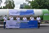 Pusri kirim 11,18 ton oksigen cair ke sejumlah rumah sakit di Jakarta dan Bandung