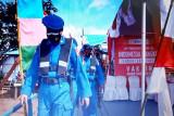 Ditpolairud Polda Kalteng jemput warga DAS Kapuas ikuti vaksinasi