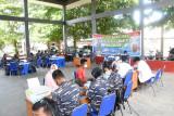 Lantamal VIII gelar Serbuan Vaksinasi masyarakat maritim di  Manado