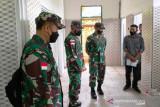 Pangdam Cenderawasih kunjungi Satgas Pengamanan dan cek akomodasi PON XX di Timika
