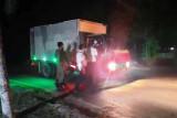 Larangan melintasi ruas Pangkalan Bun-Kolam mulai diberlakukan