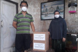 Pemkot Magelang berikan paket sembako ke warga isolasi mandiri