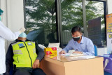 Antisipasi penyebaran COVID, Jasa Raharja Lampung laksanakan rapid test antigen