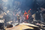Seorang warga tewas dalam insiden kebakaran rumah di Makassar